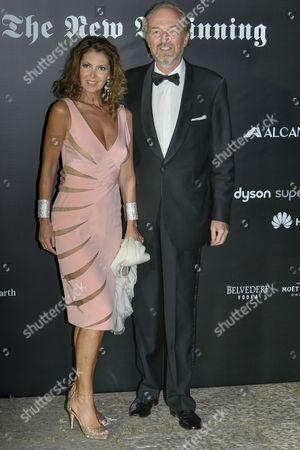 Alessandra Repini and Arturo Artom