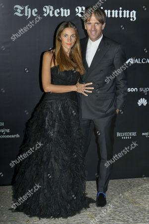 Evelina Rolandi and Davide Oldani