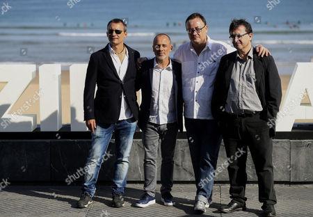 Editorial image of El Autor - Photocall - 65th San Sebastian Film Festival, Spain - 23 Sep 2017