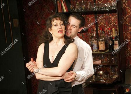 'Who's Afraid of Virginia Woolf'  - Tracey Childs (Martha), Mark Farrelly (Nick)
