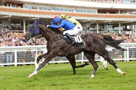 FENNAAN ridden by Jimmy Fortune 1st The Wedgewood Estates EBF Novice Stakes at Newbury
