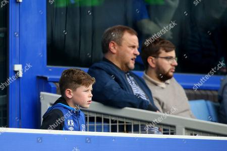 Kai Rooney at Goodison Park