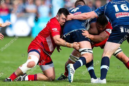 Editorial image of Bedford Blues v Bristol Rugby, UK - 23 Sep 2017