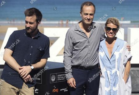Gregoire Leprince-Ringuet, Emmanuel Bourdieu and Melanie Thierry