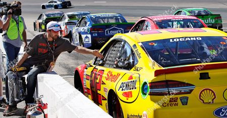 Editorial photo of NASCAR New Hampshire Auto Racing, Loudon, USA - 23 Sep 2017