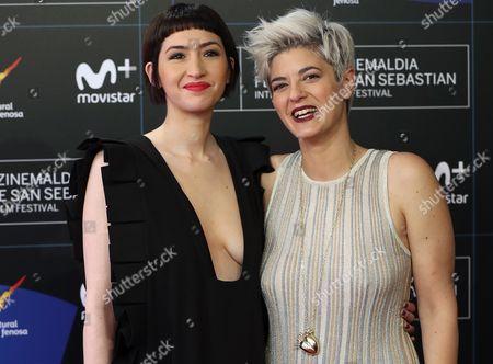 Anahi Berneri and Sofia Gala Castiglione