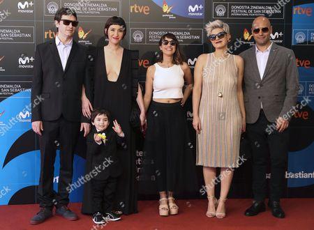 Anahi Berneri, Sofia Gala Castiglione and Laura Huberman