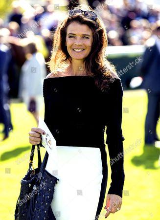 Former tennis player Annabel Croft