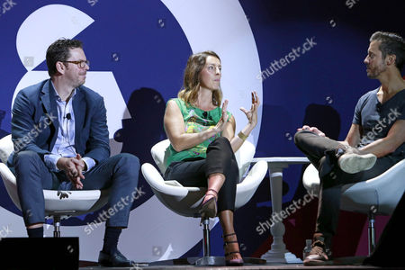 Sean Reardon (CEO, Zenith USA), Allison Sabol (Global Talent Director, Anomaly), Kevin Keith (Chief Brand Officer, Orangetheory Fitness)