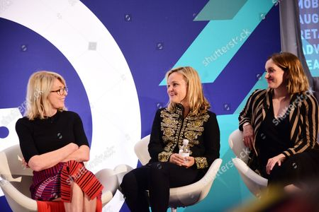 Susan Lyne (President and Founding Partner, BBG Ventures), Allison Arden (Author, Founder, Soul and Co), Katherine Power (Co-Founder and CEO, Clique Media Group)
