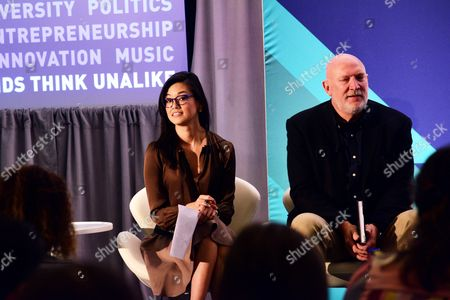 Betty Liu (Inc, Anchor and Founder, Radiate), Scott Howe (President and CEO, Acxiom)