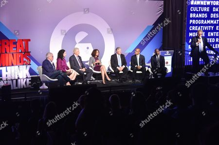 Editorial picture of CEO Action for Diversity and Inclusion seminar, Advertising Week New York 2017, PlayStation East Stage, PlayStation Theater, New York, USA - 25 Sep 2017