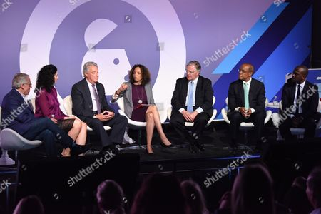 Editorial image of CEO Action for Diversity and Inclusion seminar, Advertising Week New York 2017, PlayStation East Stage, PlayStation Theater, New York, USA - 25 Sep 2017