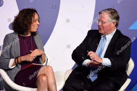 Ellen McGirt (Senior Editor, Fortune) and Clifford Hudson (CEO, Sonic)