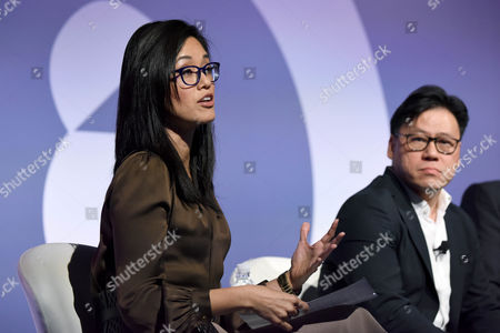 Betty Liu (Inc, Anchor and Founder, Radiate), Steven Chang (Corporate VP, Tencent)