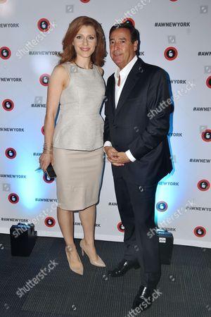 Julia Boorstin (Entertainment and Media Correspondent, CNBC), Bill Koenigsberg (President, CEO and Founder Horizon Media)