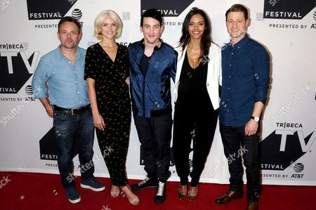 Danny Cannon, Erin Richards, Robin Lord Taylor, Jessica Lucas, Benjamin McKenzie