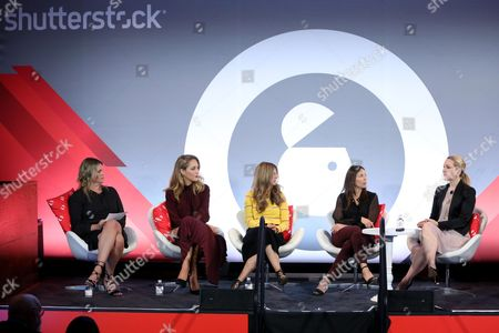 Editorial image of Hashtag Sponsored seminar, Advertising Week New York 2017, Shutterstock Stage, Liberty Theater, New York, USA - 25 Sep 2017