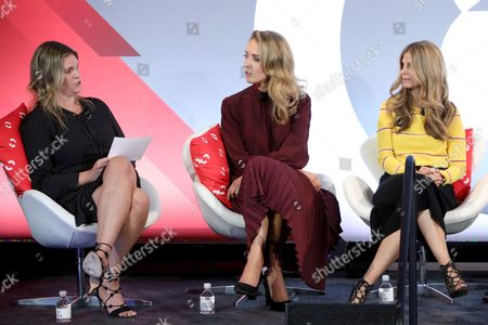 Stock Picture of Reesa Lake (SVP and Partner, Digital Brand Architects), Mary Orton (Co-Founder, Mobile Style), Melissa Davis (EVP, ShopStyle)
