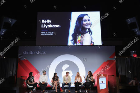 Jill King (SVP, Marketing and Partnerships, Adult Swim and Boomerang, Cartoon Network), Keith Hernandez (SVP of Brand Strategy and Sales, Bleacher Report), Hallie Johnston (SVP of Client Services and Strategy, Brand Experiences, Refinery), Otto Bell (Chief Creative Officer, Courageous), Jennifer Cohen (SVP of Entertainment Content Partnerships, Turner Ignite), Kelly Liyakasa (Sr Editor, AdExchanger)
