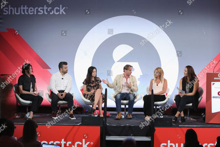 Editorial image of Not Your Parents' Branded Content seminar, Advertising Week New York 2017, Shutterstock Stage, Liberty Theater, New York, USA - 25 Sep 2017