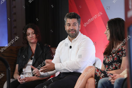 Jill King (SVP, Marketing and Partnerships, Adult Swim and Boomerang, Cartoon Network), Keith Hernandez (SVP of Brand Strategy and Sales, Bleacher Report), Hallie Johnston (SVP of Client Services and Strategy, Brand Experiences, Refinery),