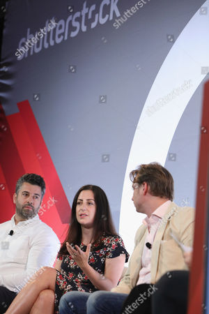 Keith Hernandez (SVP of Brand Strategy and Sales, Bleacher Report), Hallie Johnston (SVP of Client Services and Strategy, Brand Experiences, Refinery), Otto Bell (Chief Creative Officer, Courageous)