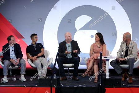 Editorial image of We Must be Able to do Better than This. Making Better Ads for Mobile seminar, Advertising Week New York 2017, Shutterstock Stage, Liberty Theater, New York, USA - 25 Sep 2017