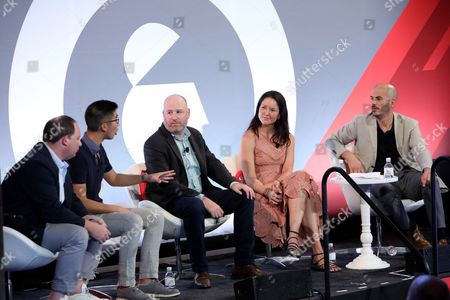 Editorial photo of We Must be Able to do Better than This. Making Better Ads for Mobile seminar, Advertising Week New York 2017, Shutterstock Stage, Liberty Theater, New York, USA - 25 Sep 2017