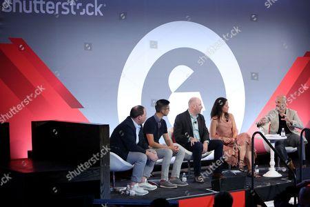 Ian Schafer (Chief Experience Officer, Engine USA), Brian Wong (CEO and Founder, Kiip), Russ Freyman (Head of Partnerships, Google), Natalie Monbiot (SVP Futures, Starcom), Steve Ellis (CEO, WHOSAY)