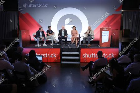 Editorial picture of We Must be Able to do Better than This. Making Better Ads for Mobile seminar, Advertising Week New York 2017, Shutterstock Stage, Liberty Theater, New York, USA - 25 Sep 2017
