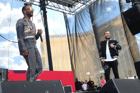Juicy J and French Montana