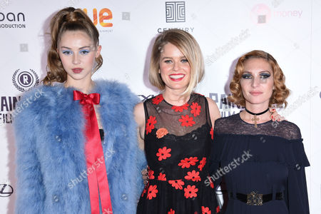 Hermione Corfield, Alice Eve and Josephine De La Baume