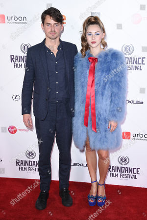 Jack Eve and Hermione Corfield