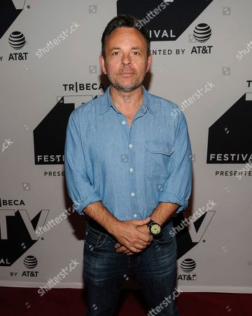 """Danny Cannon attends a screening of """"Gotham"""" during the Tribeca TV Festival at Cinepolis Chelsea, in New York"""