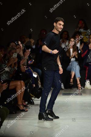 Editorial image of Brognano show, Runway, Spring Summer 2018, Milan Fashion Week, Italy - 22 Sep 2017