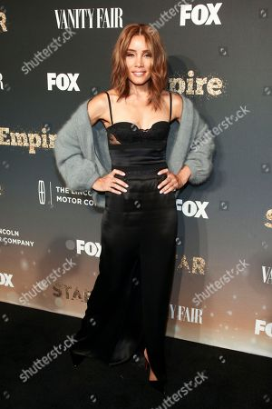 """Stock Picture of Michael Michele attends Fox's celebration of the """"Empire"""" and """"Star"""" television shows at One World Observatory, in New York"""