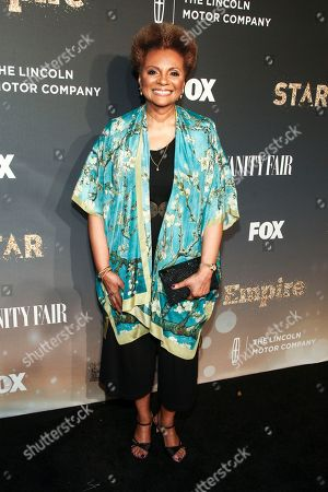 """Leslie Uggams attends Fox's celebration of the """"Empire"""" and """"Star"""" television shows at One World Observatory, in New York"""