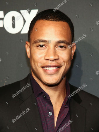 "Trai Byers attends Fox's celebration of the ""Empire"" and ""Star"" television shows at One World Observatory, in New York"