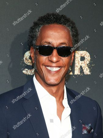 """Andre Royo attends Fox's celebration of the """"Empire"""" and """"Star"""" television shows at One World Observatory, in New York"""