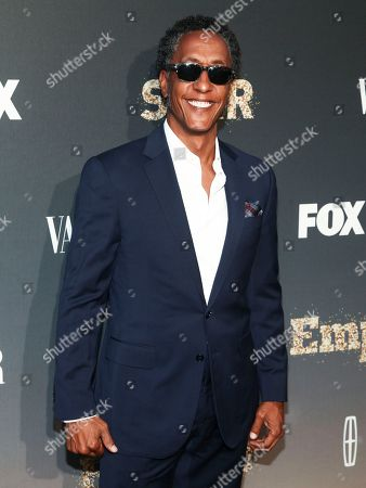 """Stock Picture of Andre Royo attends Fox's celebration of the """"Empire"""" and """"Star"""" television shows at One World Observatory, in New York"""