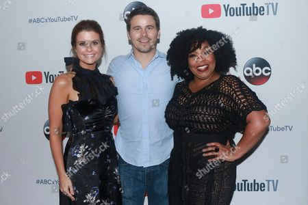 Joanna Garcia, Jason Ritter and Kimberly Hebert Gregory