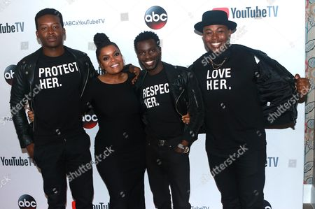 Brandon Micheal Hall, Yvette Nicole Brown, Marcel Spears and Bernard David Jones