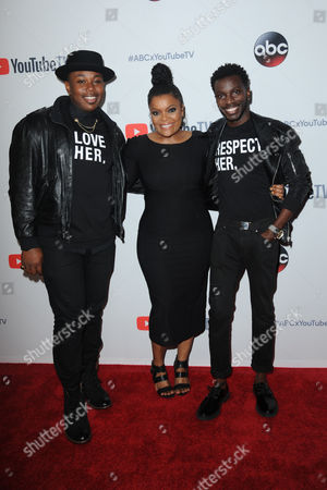 Bernard David Jones, Yvette Nicole Brown, Marcel Spears