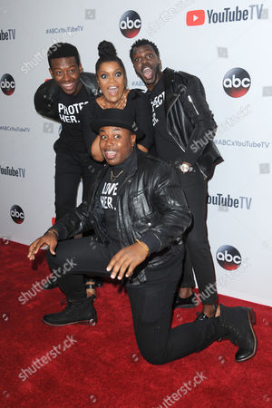 Brandon Micheal Hall, Yvette Nicole Brown, Marcel Spears, Bernard David Jones