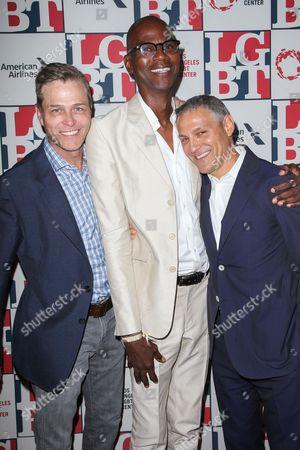 Patrick Whitesell, Mark Bradford, Ari Emanuel