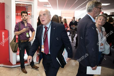 Stephen Pound at the conference