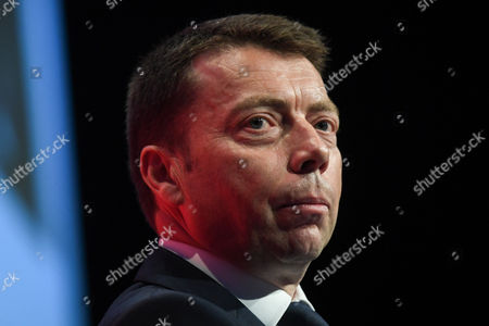 Stock Picture of Iain McNicol, General Secretary, speaks on the opening day of the Labour Party Conference
