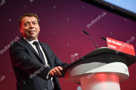 Iain McNicol, General Secretary, speaks on the opening day of the Labour Party Conference