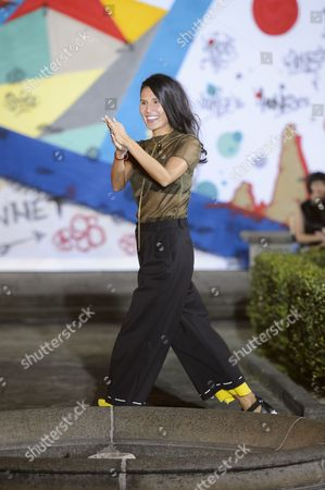 Goga Ashkenazi on the catwalk